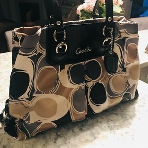Certified authentic coach bag - large